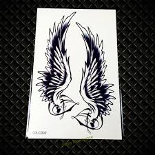 wing tattoos on back cool wing tattoos promotion shop for promotional cool wing tattoos