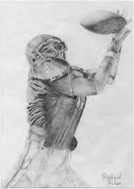 football pencil drawing a photo on flickriver