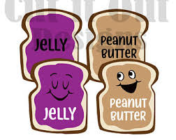 Peanut Butter And Jelly Costume Peanut Butter Twin Etsy