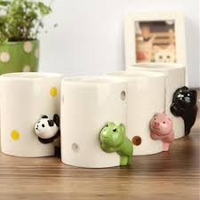 popular panda shaped mugs buy cheap panda shaped mugs lots from