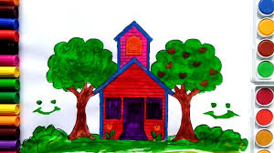 Cute House by House Colouring In Pages For Kids Cute Swan W Coloring Pages For