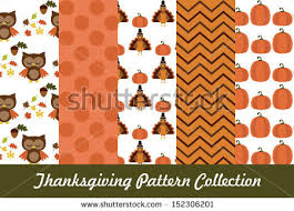 free thanksgiving pattern vector free vector stock
