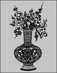 Buy Vase Chinese Style Stencils From The Stencil Library Buy From Our
