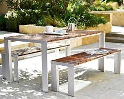 Teak Outdoor Dining Table And Chairs Solid Teak Outdoorpatio Dining Table Jess Gasca With Teak Outdoor