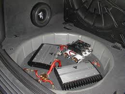 how to make a fiberglass subwoofer box 19 steps with pictures fiberglass stereo false floor sub box ideas suggestions pictures