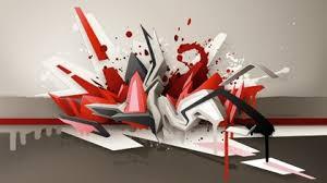 computer graffiti metal graffiti computer graphics 3d text daim metal