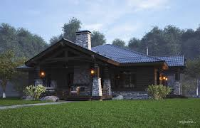 mountein chalet дом коттедж особняк house project from the
