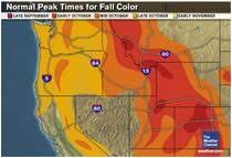 oregon fall foliage maps u0026 reports projected current oregon