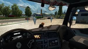 renault truck interior renault range t 480 v4 0 truck ets2 mod
