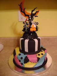 nightmare before wedding cake blah