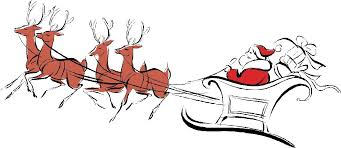 santa and reindeer pictures of santa and reindeer uduzhz clipart construction junction