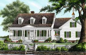 house style southern house plans with porchesd columns wrap around porch front