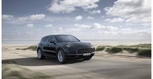 Porsche Cayenne 16 - third generation porsche cayenne models make global debut in