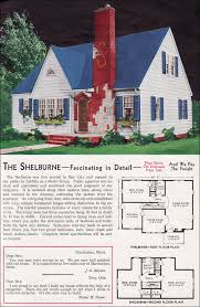 Cotswold Cottage House Plans by Eclectic English And Traditional American Details 1940 Aladdin