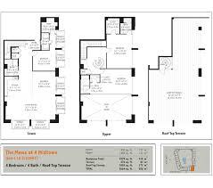 floorplans midtown miami residences