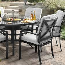 patio table with removable tiles cast aluminium garden furniture