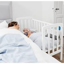 Side Bed Crib Baby Dan By My Side Crib Cribs Moses Baskets Pinterest