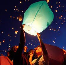 luck lanterns sky lanterns wish lantern