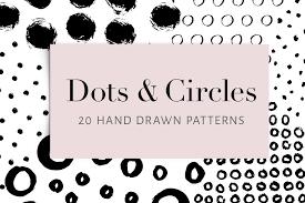 dots and circles 20 patterns patterns creative market