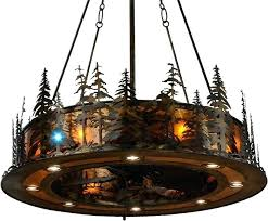 Lodge Ceiling Fans With Lights Rustic Lodge Ceiling Fans With Lights Theteenline Org