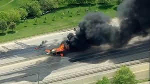 Fires In Denver update massive vehicle fire closes i 25 in denver tech center