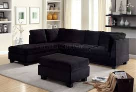 Black Fabric Sectional Sofas Fabric Sectionals Microfiber Sectional Sofas Microsuede