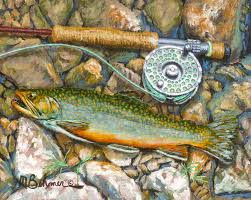 mark behmer fly fishing art midcurrent