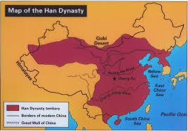 East China Sea Map Hina U0027s China Blog Map Han Dynasty