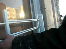 wally houses installs security bars on a window youtube