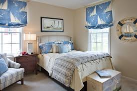 Blue Upholstered Headboard Bedroom Decorating With Blue Carpet Bedroom Traditional With