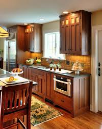 Red And Black Kitchen Cabinets by Best 25 Dark Oak Cabinets Ideas On Pinterest Kitchen Tile