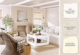 White Furniture Decorating Living Room White Paint Color Selection Tips On White Furniture Living Room