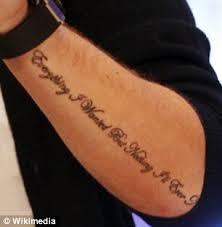 liam payne unveils new tattoo u0027i figured it out u0027 on his forearm