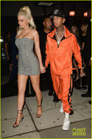 a1 bentley kylie jenner u0026 tyga party with hailee steinfeld at nylon u0027s rebel