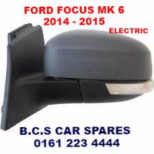 ford focus wing mirror parts ford focus 2014 2015 door mirror passenger side electric