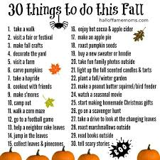 20 things to do on a no spend weekend in fall free activities