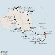 New Zealand And Australia Map Australia Escorted Vacations Guided Tour Packages Globus