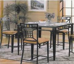 Round Glass Top Dining Table Set Kitchen Table Glass Top Dining Table Set 6 Chairs High Top