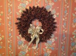 pine cone wreath how to make a beautiful pine cone wreath without gluing or