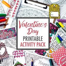 valentine u0027s printables sarah renae clark coloring book