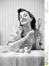 femme en cuisine femme au foyer dans la cuisine image stock image du mots