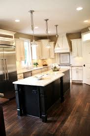 Dark Floor Kitchen by 33 Best Dark Island White Cabinets Images On Pinterest Dream