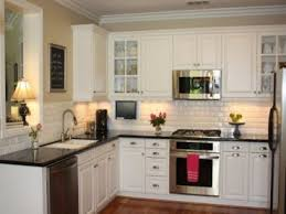white cabinets with black countertops ideas backsplash ideas for black granite countertops and white