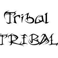 how to draw a tribal font youtube tattoos pinterest fonts