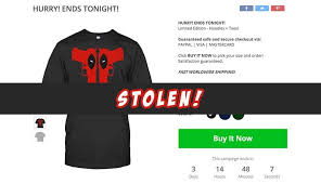 crowdfunding t shirt website teechip uses stolen artwork