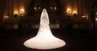 display wedding dress kate middleton wedding dress spooks the in horrible