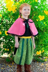 Princess Anna Halloween Costume Handmade Frozen Costumes Kids Popsugar Moms
