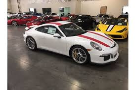 used porsche 911 canada 2016 porsche 911r for sale at cnc motors canada