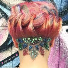 glitter hair tattoos are the latest trend sweeping instagram