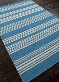 Blue Striped Area Rugs Amistad Bermuda Blue And White Striped Area Rug Blue And Blue